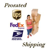 prorated shipping