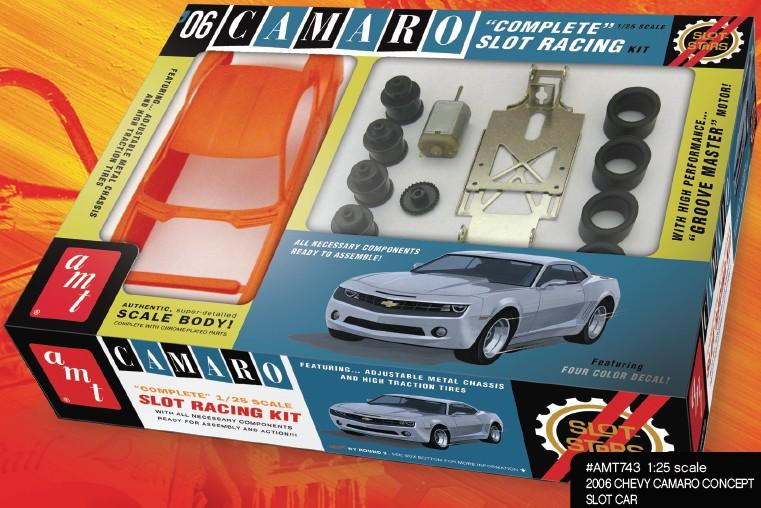 1/25 2006 Chevy Camaro Concept Slot Car Kit