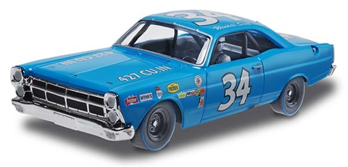'67 Ford Fairlane #34 Wendell Scott Slot 1:32