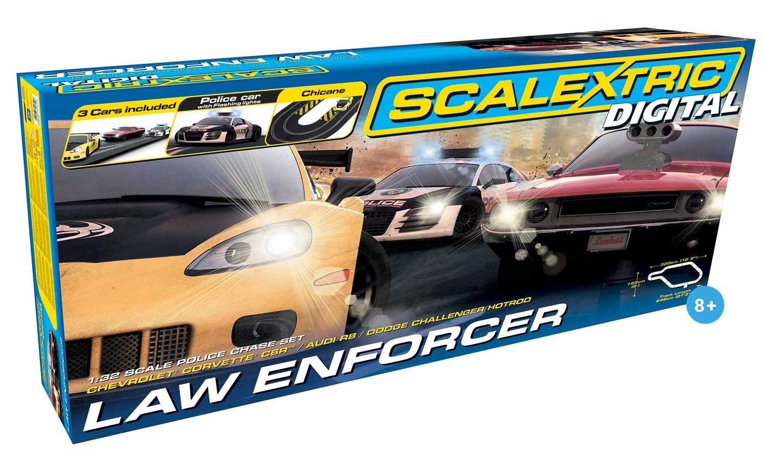 Digital Law Enforcer 1/32 Race Set