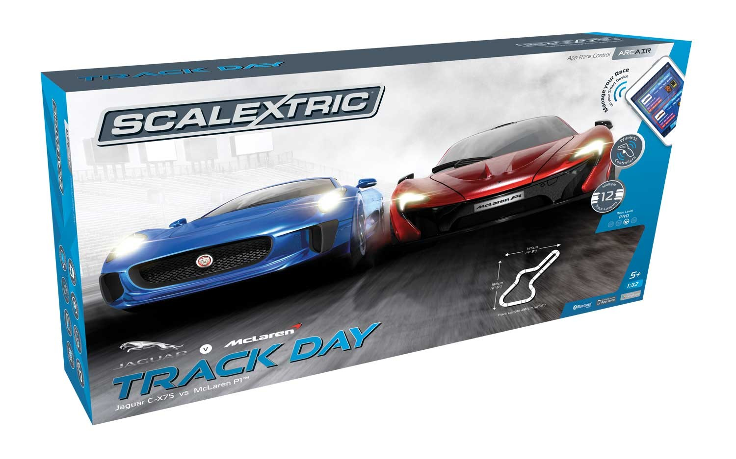 ARC AIR Track Day 1/32 Race Set