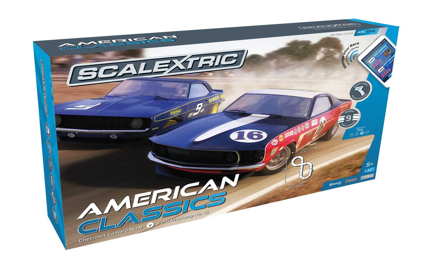 ARC ONE American Classics 1/32 Race Set