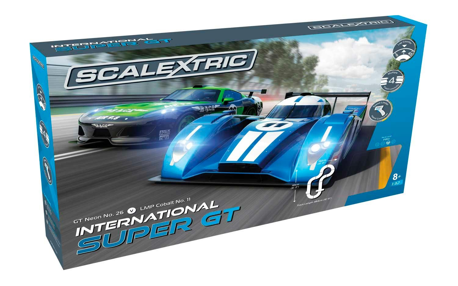 International Super GT 1/32 Race Set
