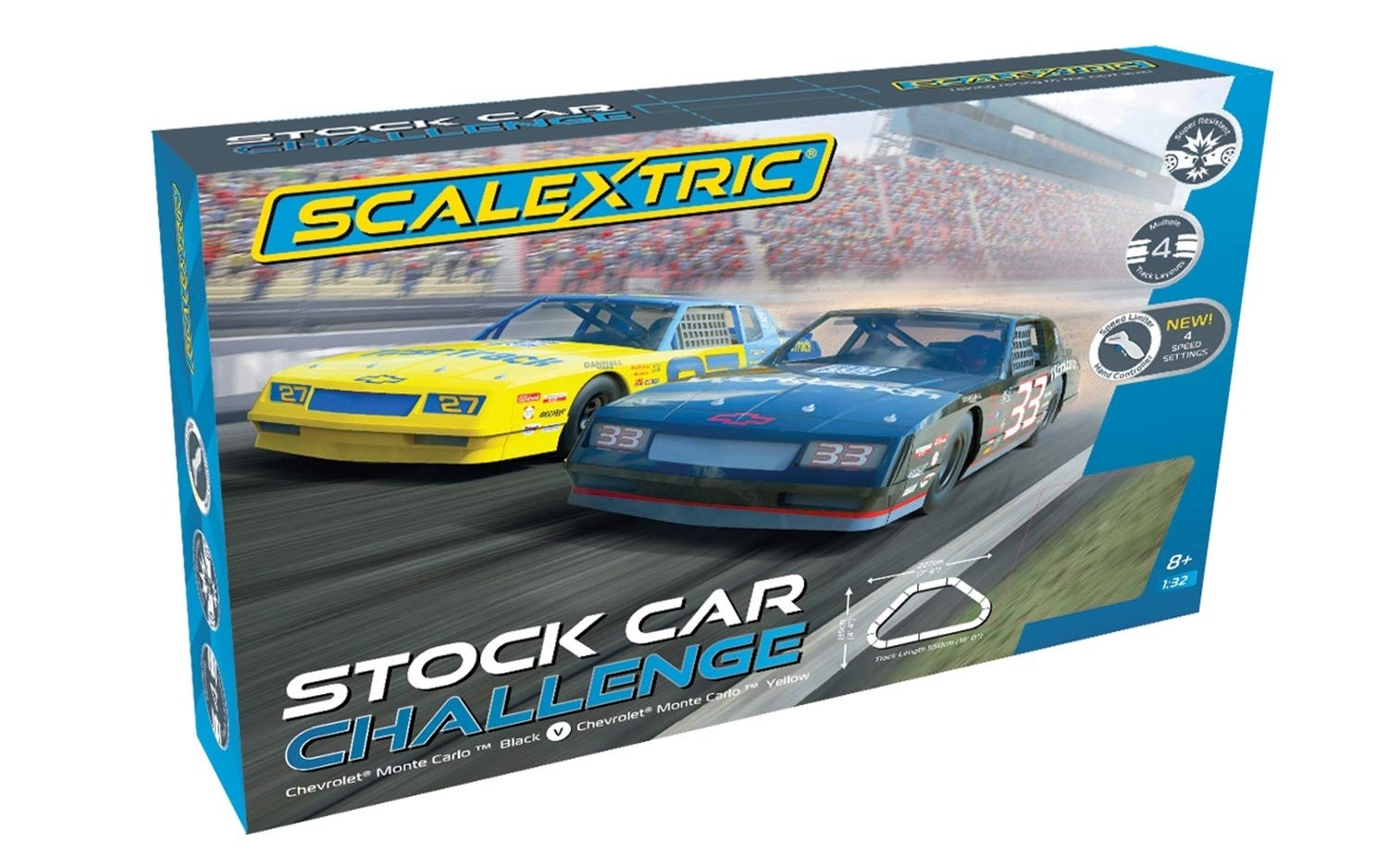 Stock Car Challenge 1/32 Race Set