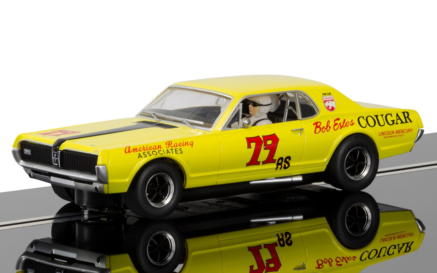 1967 Bob Estes Mercury Cougar XR7 Trans Am #79 1/32 Slot Car