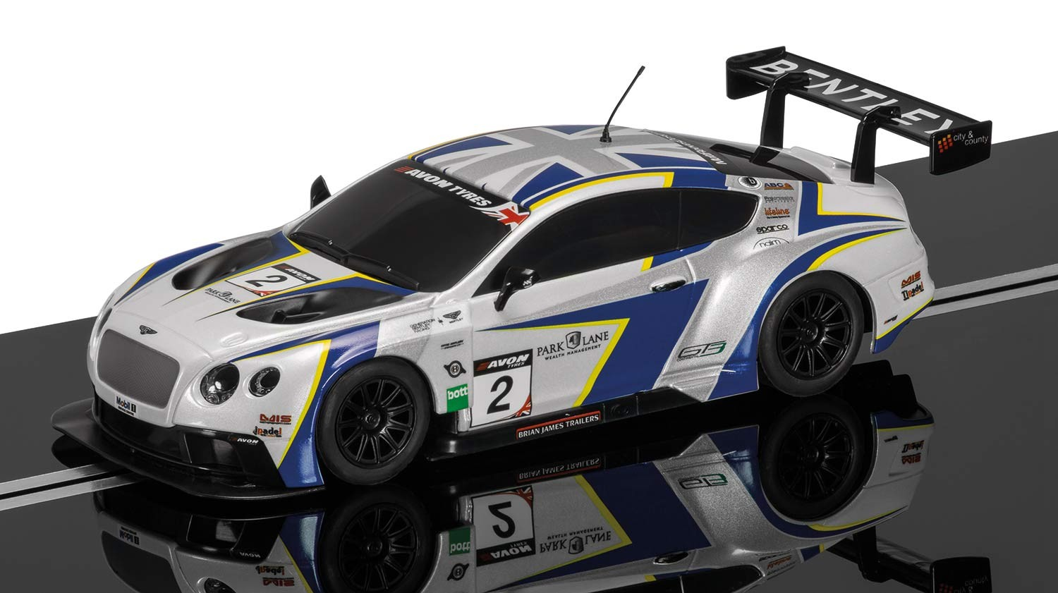 Bentley Continental GT3 - GT Pirelli World Challenge #2 1/32 Slot Car
