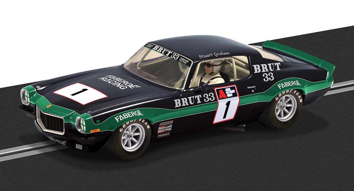 '70 Chevrolet Camaro 'Brut' #33 1/32 Slot Car