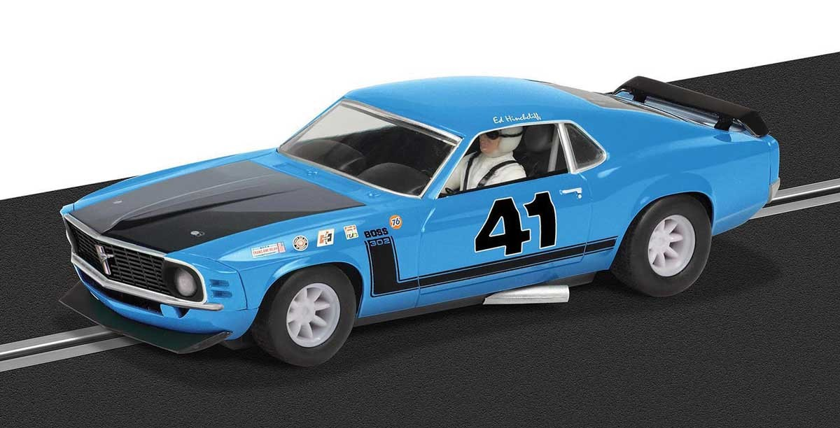 '69 Boss Mustang 302 #41 1/32 Slot Car