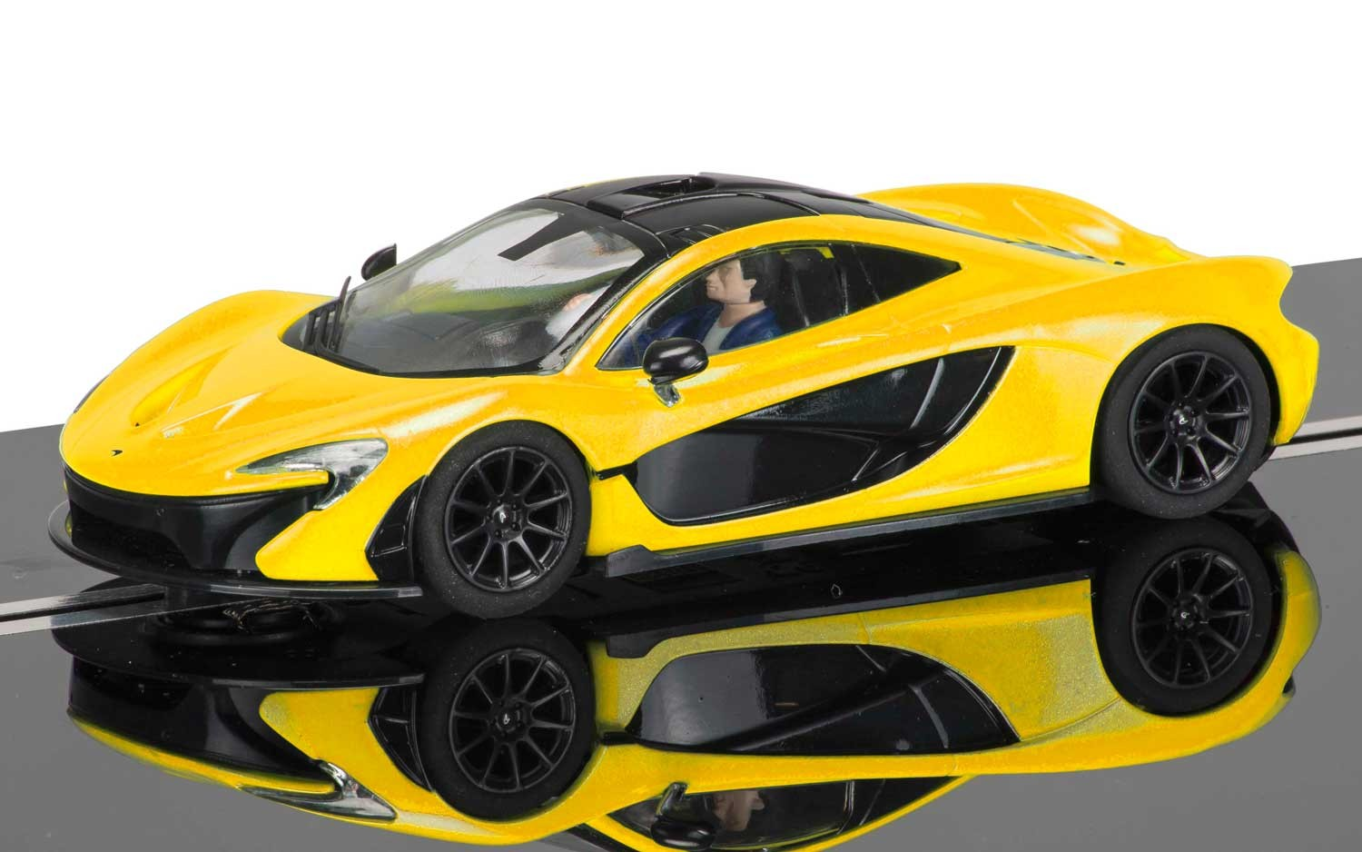 McLaren P1 Volcano Yellow 1/32 Slot Car