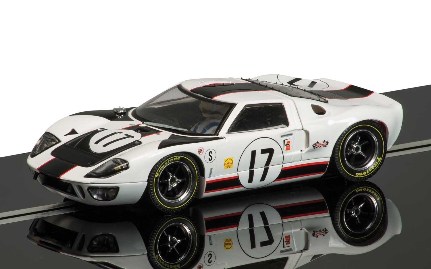 Ford GT40 #17 1/32 Slot Car