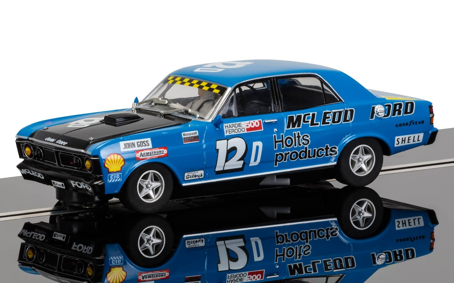 Legends Ford XY GT-HO Falcon #12 1/32 Slot Car