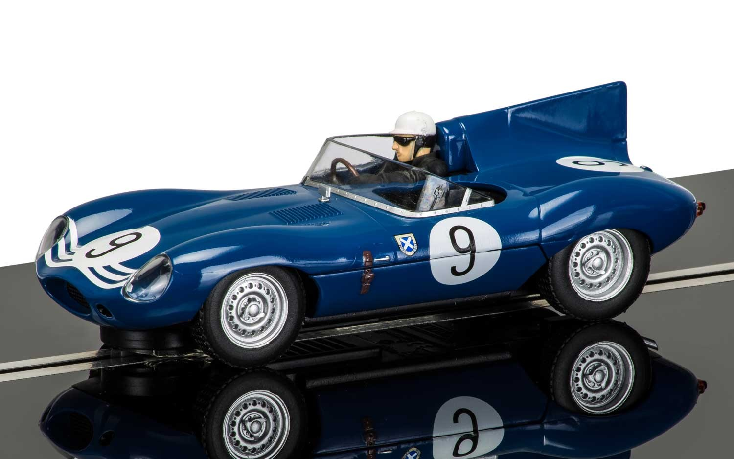 Jaguar D-Type - Nurburgring 1000km 1957 1/32 Slot Car