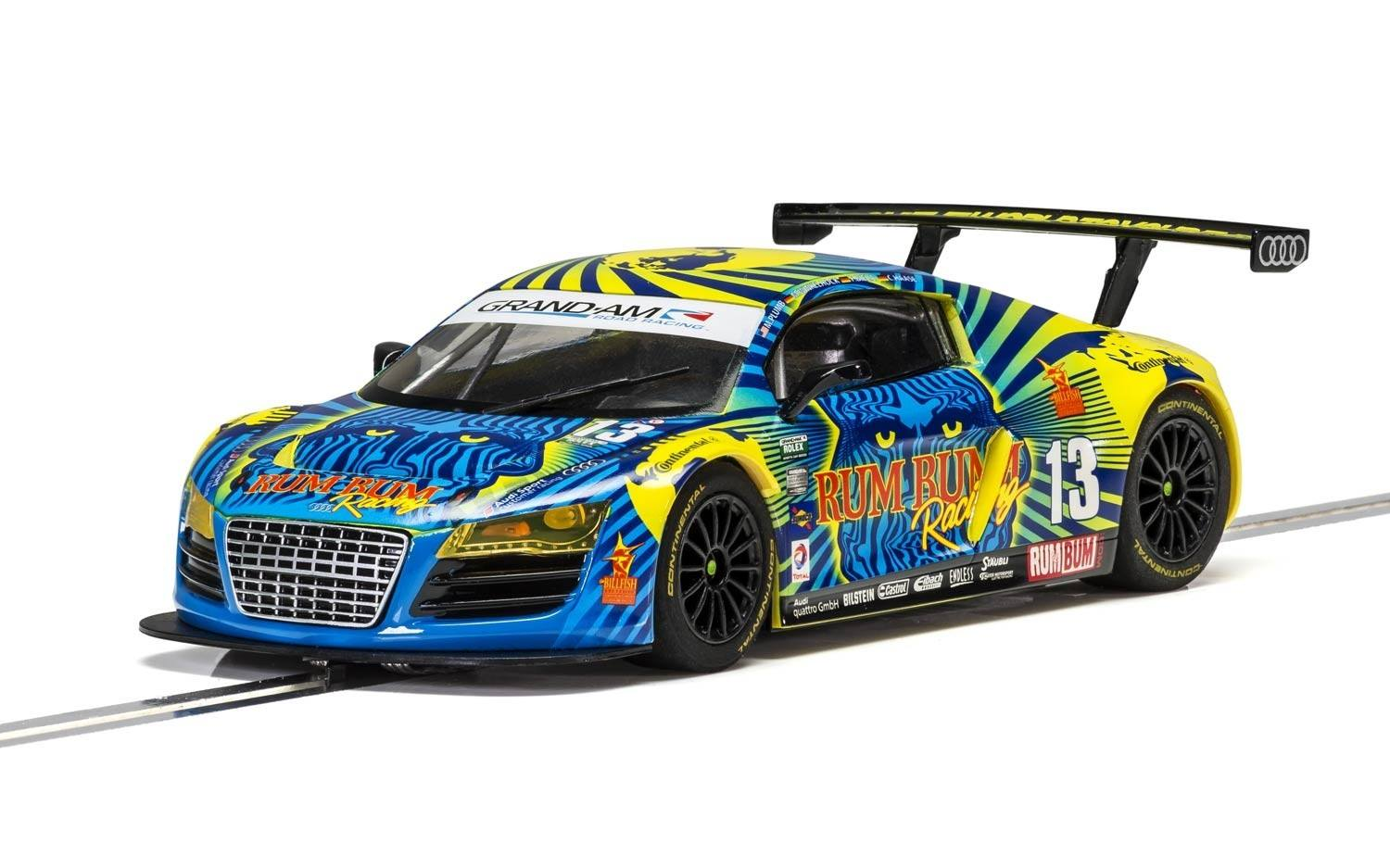 Audi R8 LMS, Rum Bum Racing #13 1/32 Slot Car