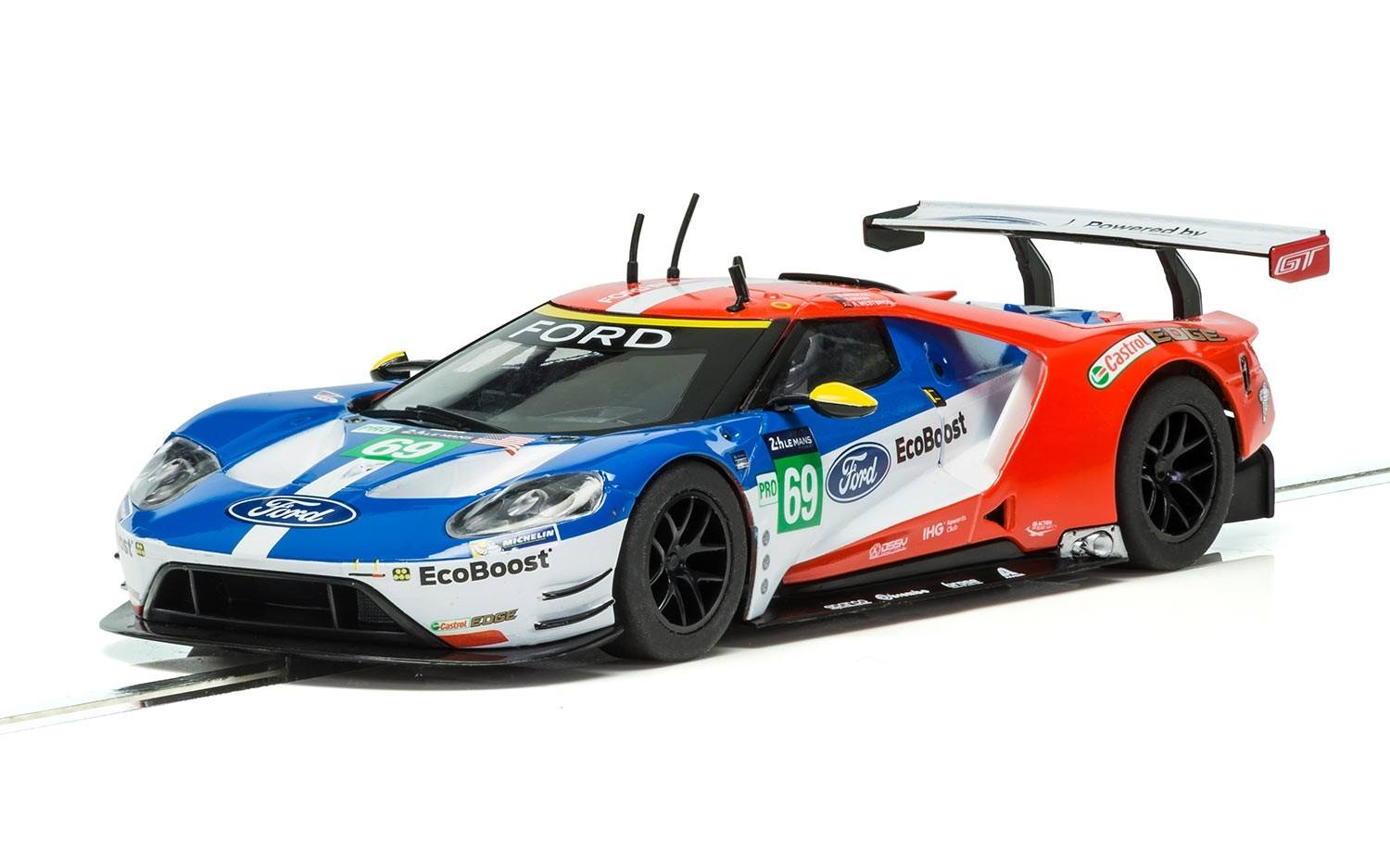 Ford GT - GTE Le Mans 2016 #69 1/32 Slot Car