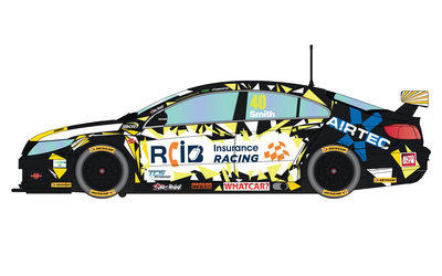 BTCC VW Passat, Aron Smith #40 1/32 Slot Car
