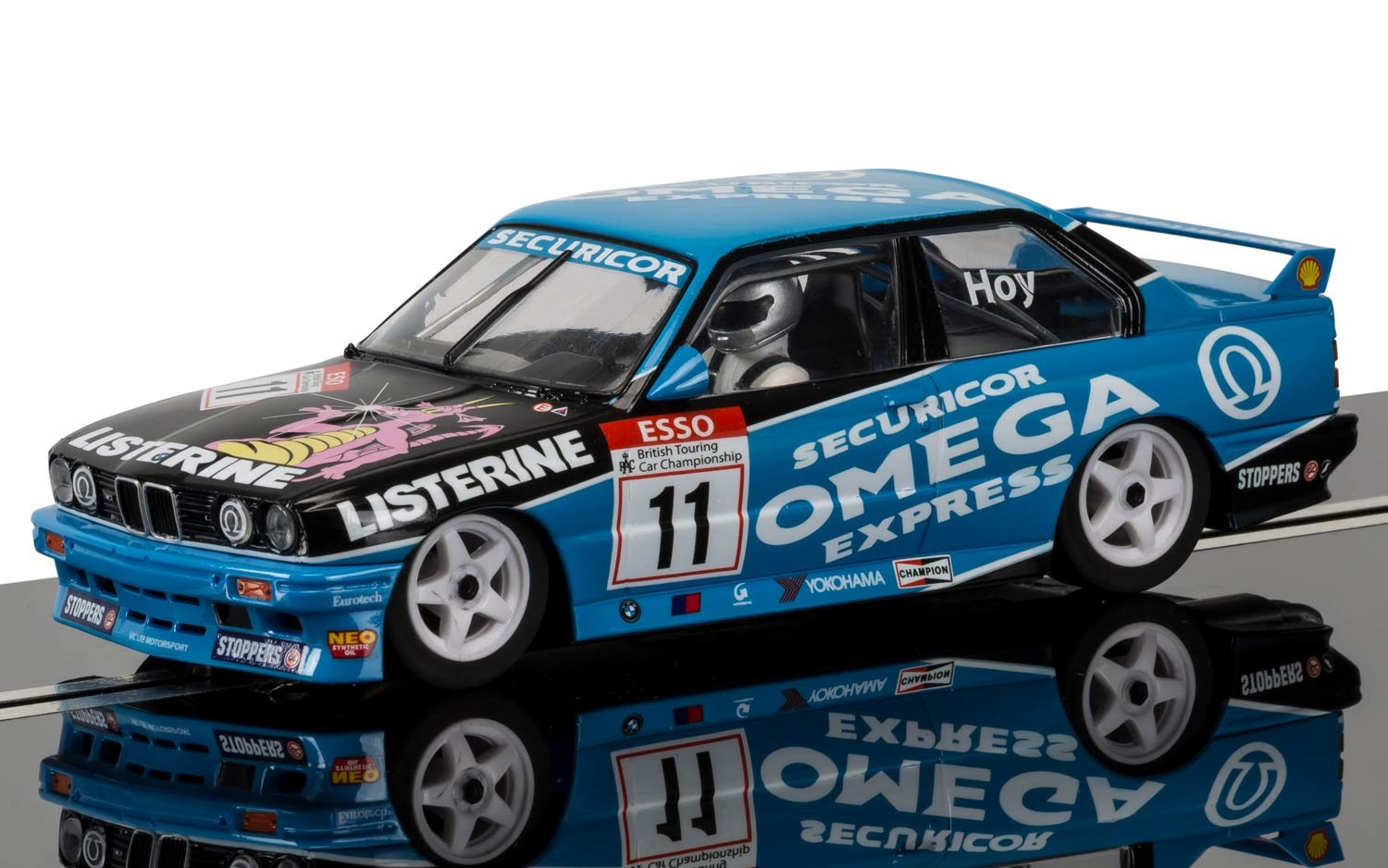 BMW M3 E30, Will Hoy #11 1/32 Slot Car