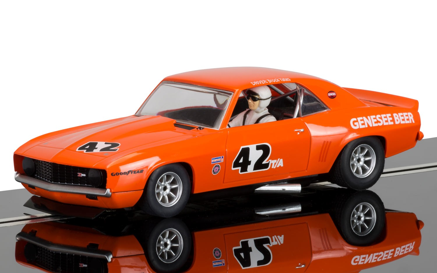 Chevrolet Camaro 1971 Trans Am #42 1/32 Slot Car