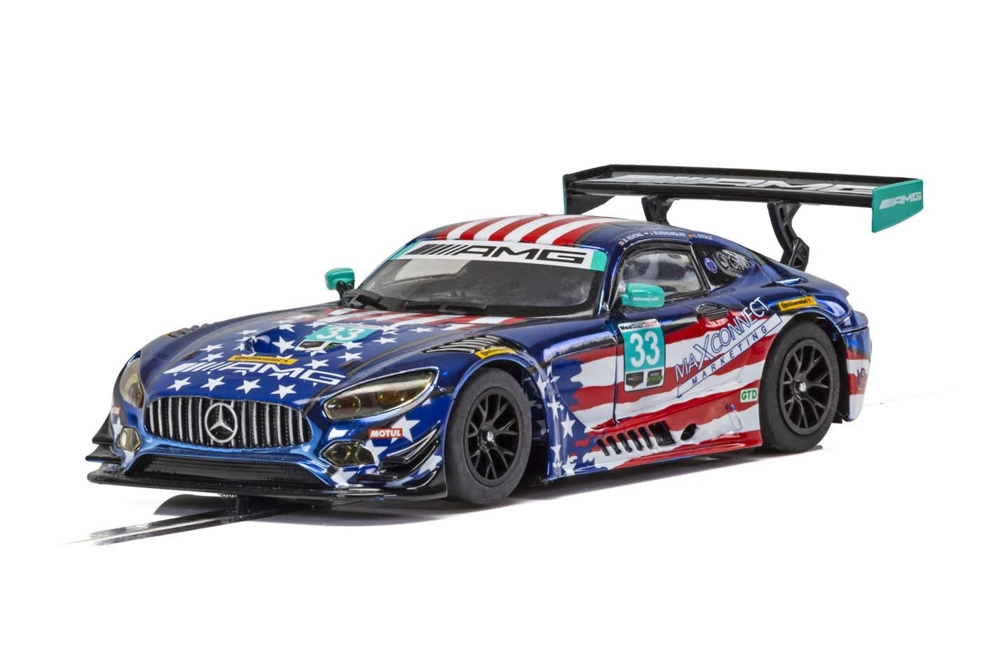 Mercedes AMG GT3, Riley Motorsports Team 1/32 Slot Car