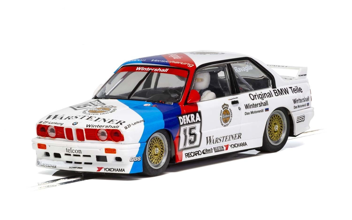 BMW E30 M3, DTM 1989 Champion 1/32 Slot Car