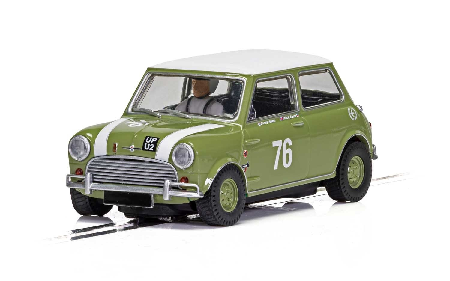 Austin Mini Cooper S, Goodwood 2018, Johnny Adam, Nick Swift 1/32 Slot Car
