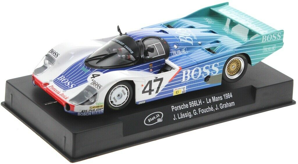 Porsche 956 LH #47 Boss Le Mans 1984 1/32 Slot Car