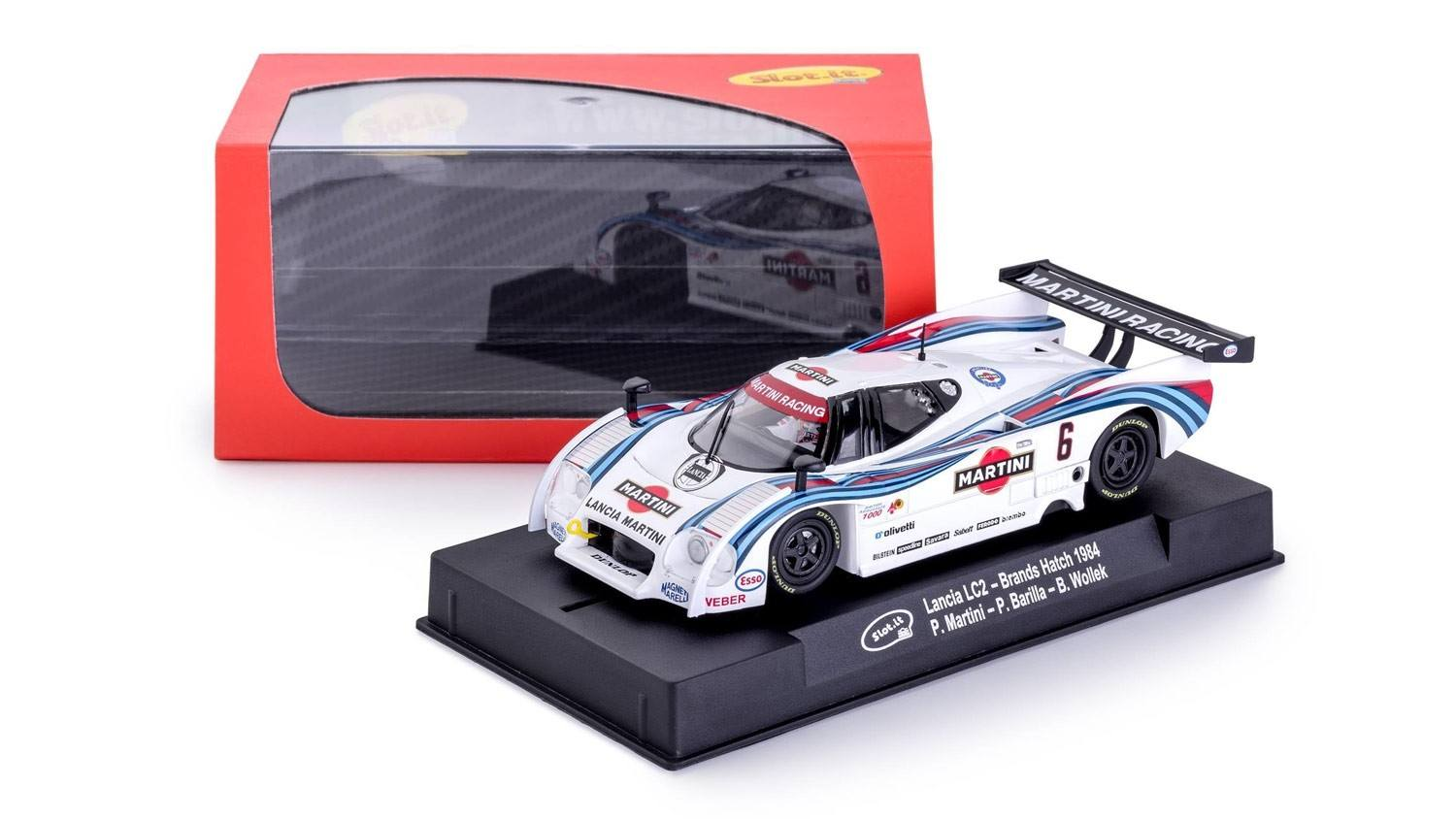 Lancia LC2 - n°6 Brands Hatch 1984 1/32 Slot Car