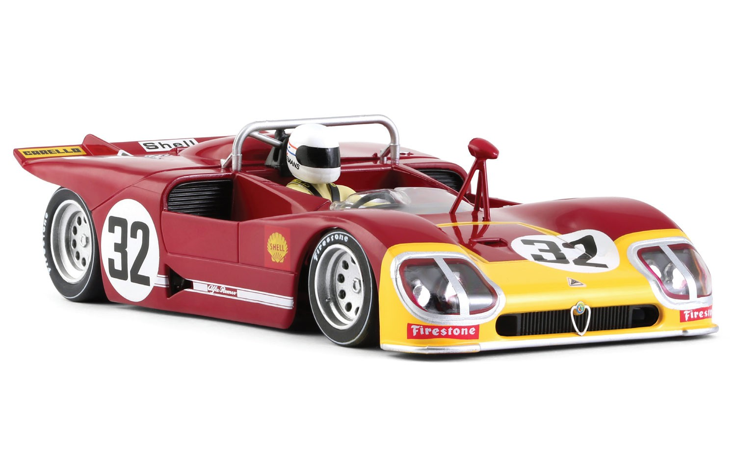 Alfa Romeo 33/3 n.32 1/32 Slot Car