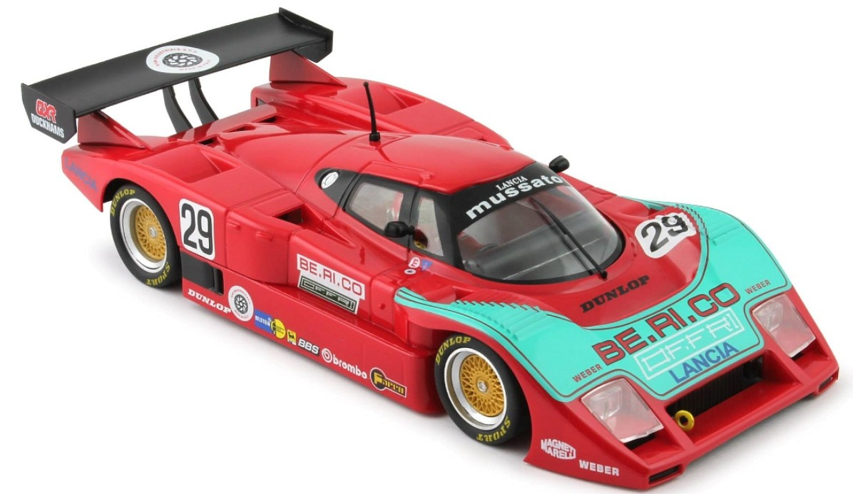 "Lancia LC2 ""BE.RI. CO"" #29 1/32 Slot Car"