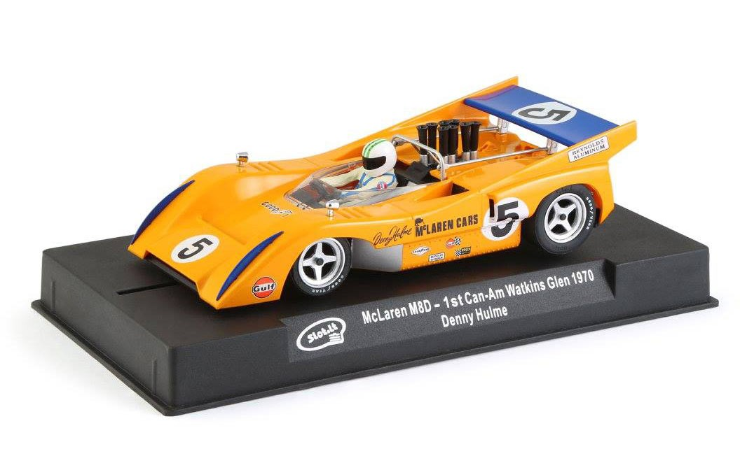 McLaren M8D #5 1st Can-Am Waktin 1/32 Slot Car