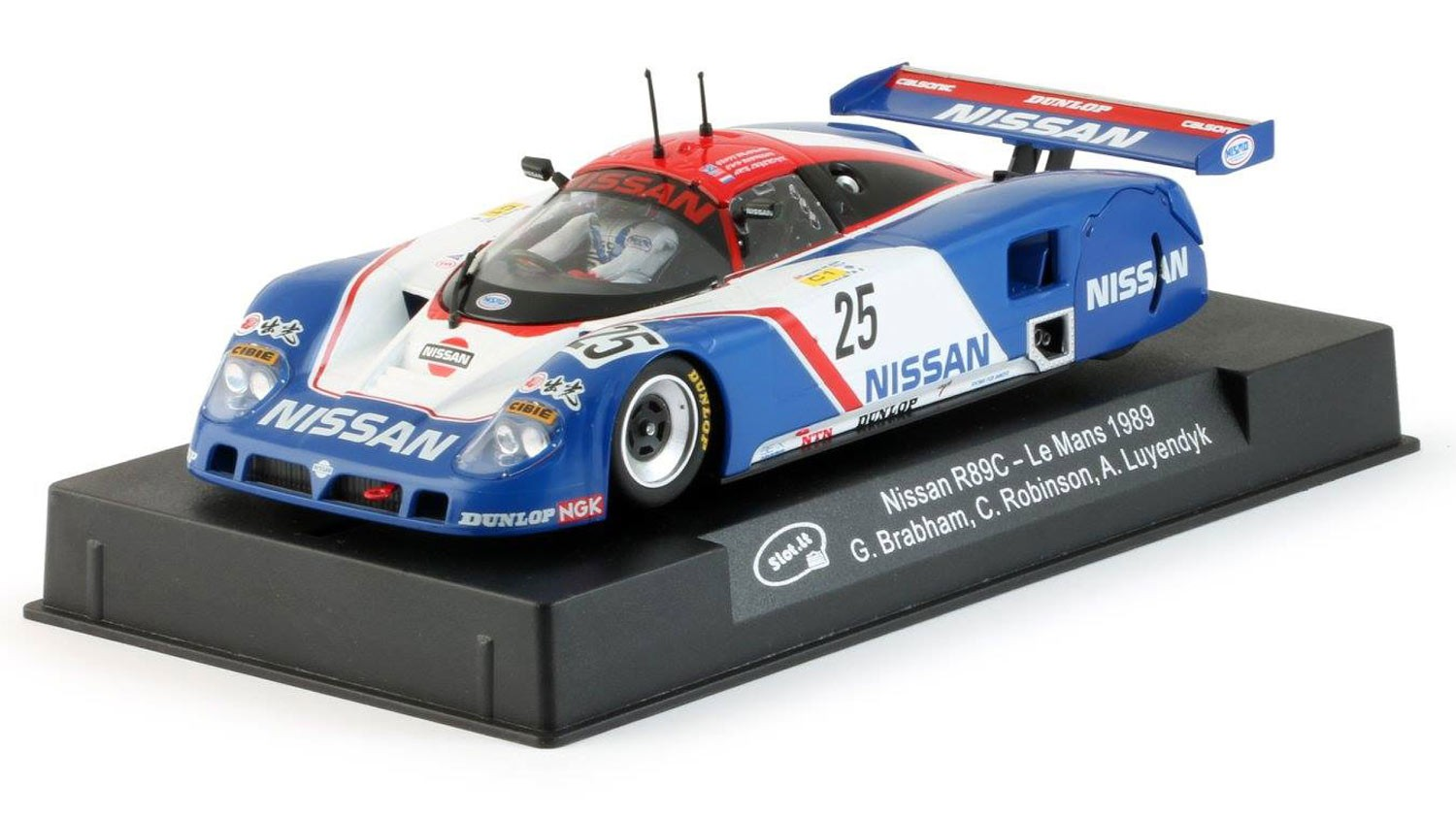 Nissan R89C #25 1/32 Slot Car