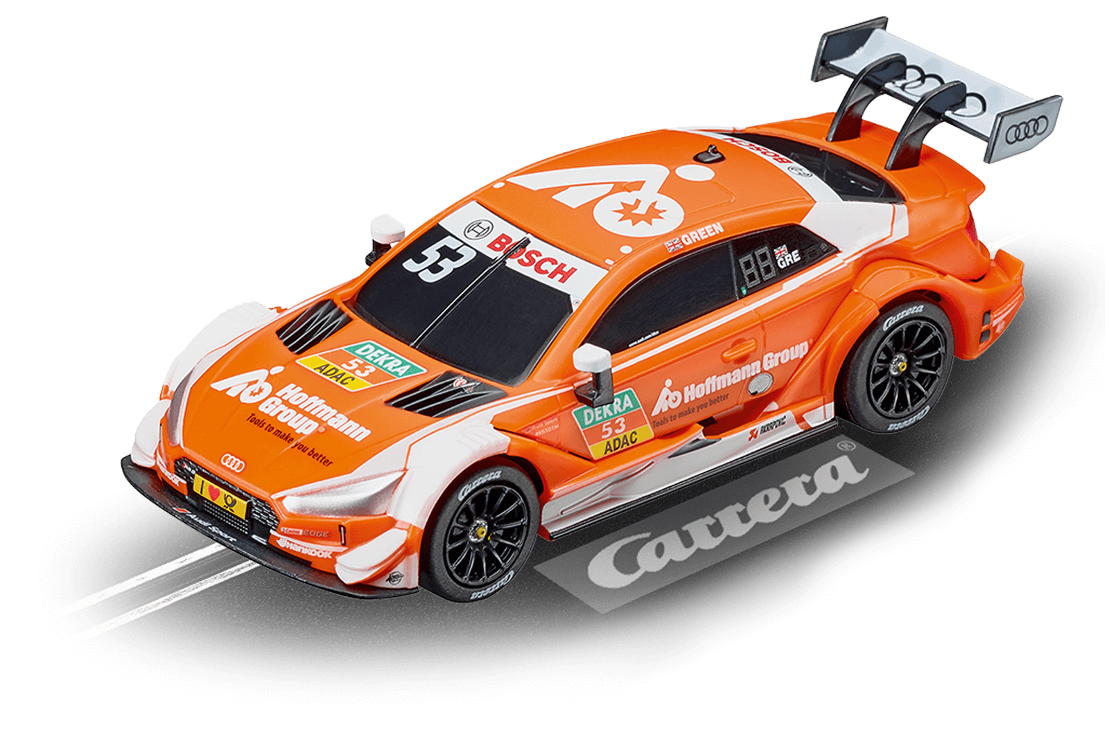 "Audi RS 5 DTM ""J. Green, No.53"" 1/43 Slot Car"
