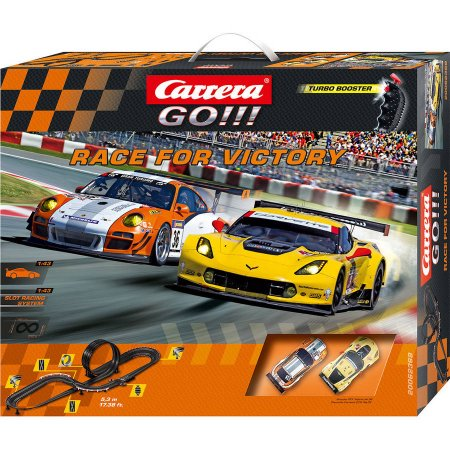 GO!!! Race for Victory 1/43 Race Set