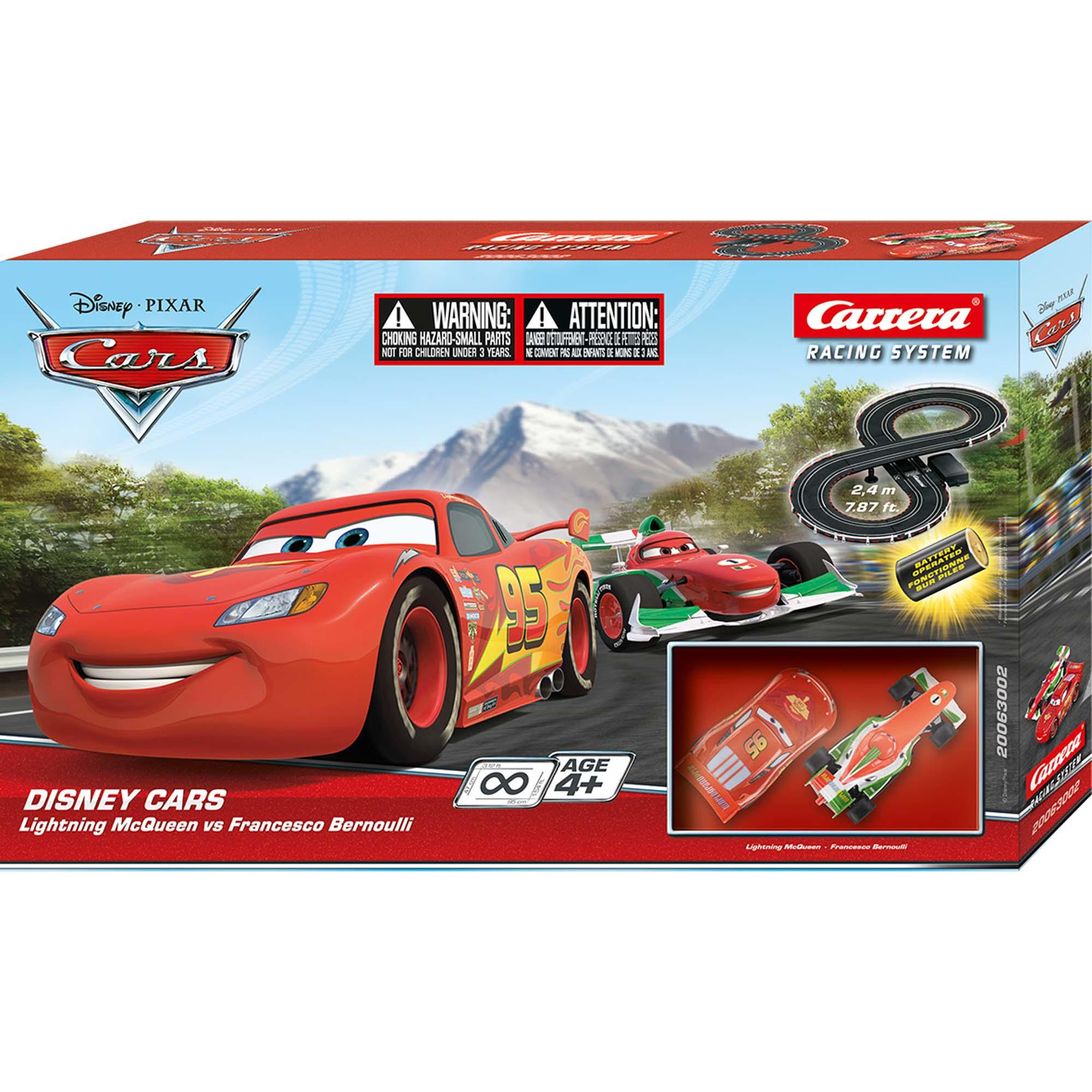 GO!!! Disney Cars Classic Race Set (Battery)