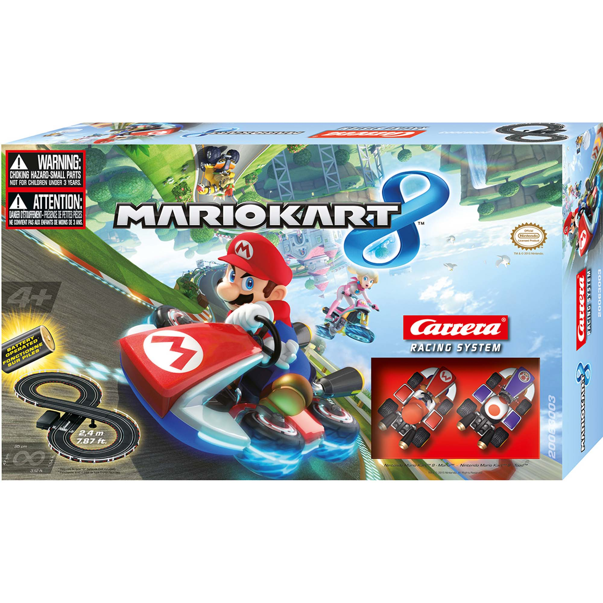 GO!!! Mario Kart 8 Race Set (Battery)