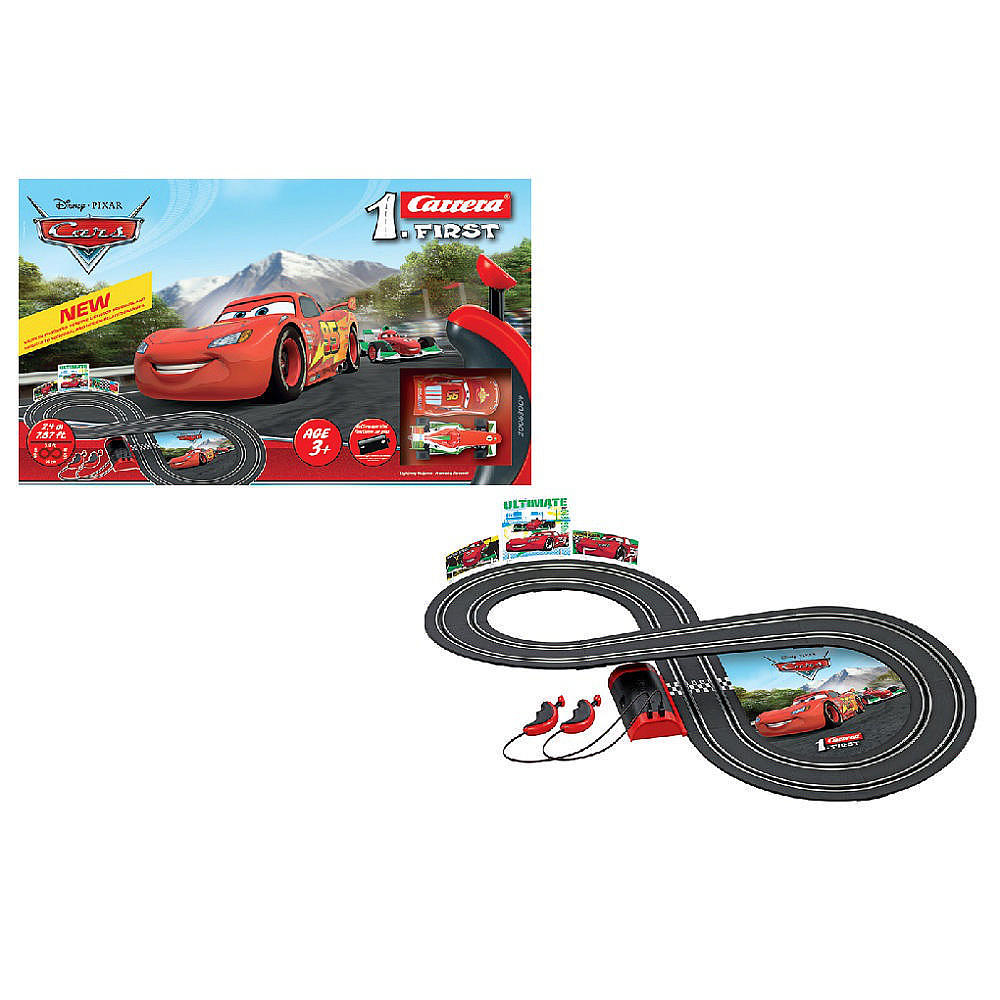 1.First Disney Pixar Cars Race Set (Battery)