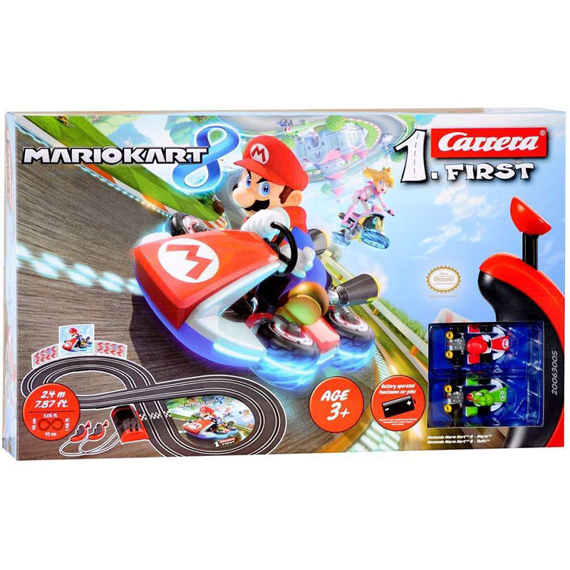 1.First Mario Kart 8 Race Set (Battery)