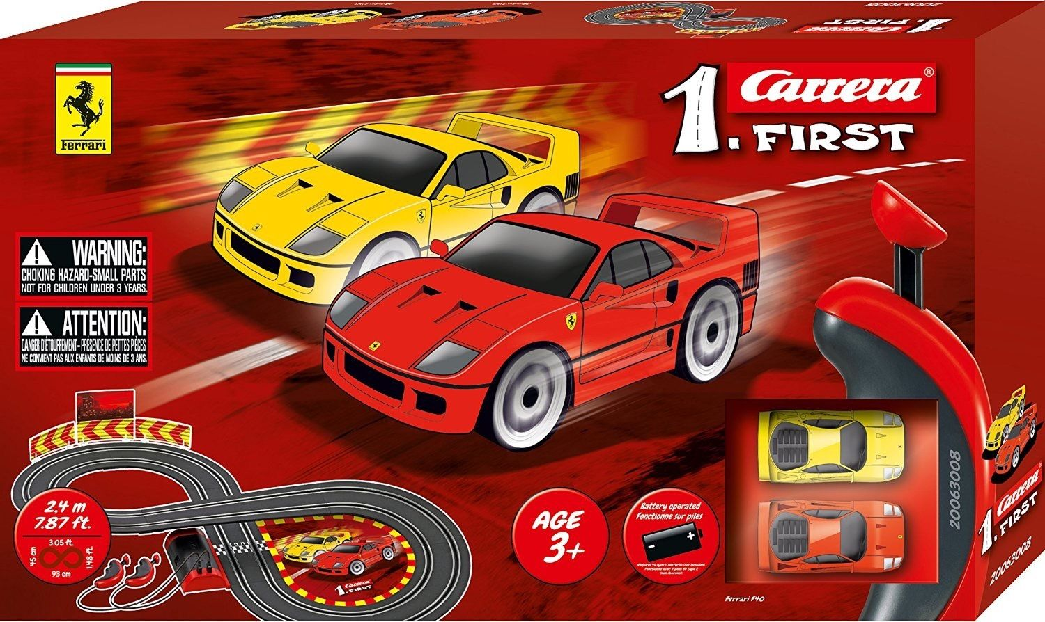 1.First Ferrari Race Set (Battery)