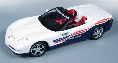 '04 Chevrolet Corvette Indy Pace Car 1/18 Die Cast