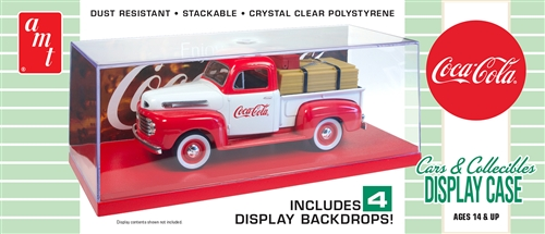 1/25 Cars & Collectibles Display Case (Coca-Cola)