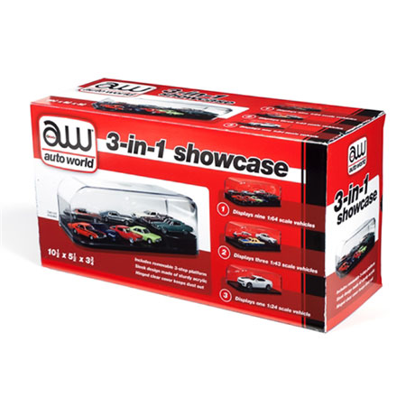 1/24 3-in-1 Display Case Interchangeable Inserts (ea)