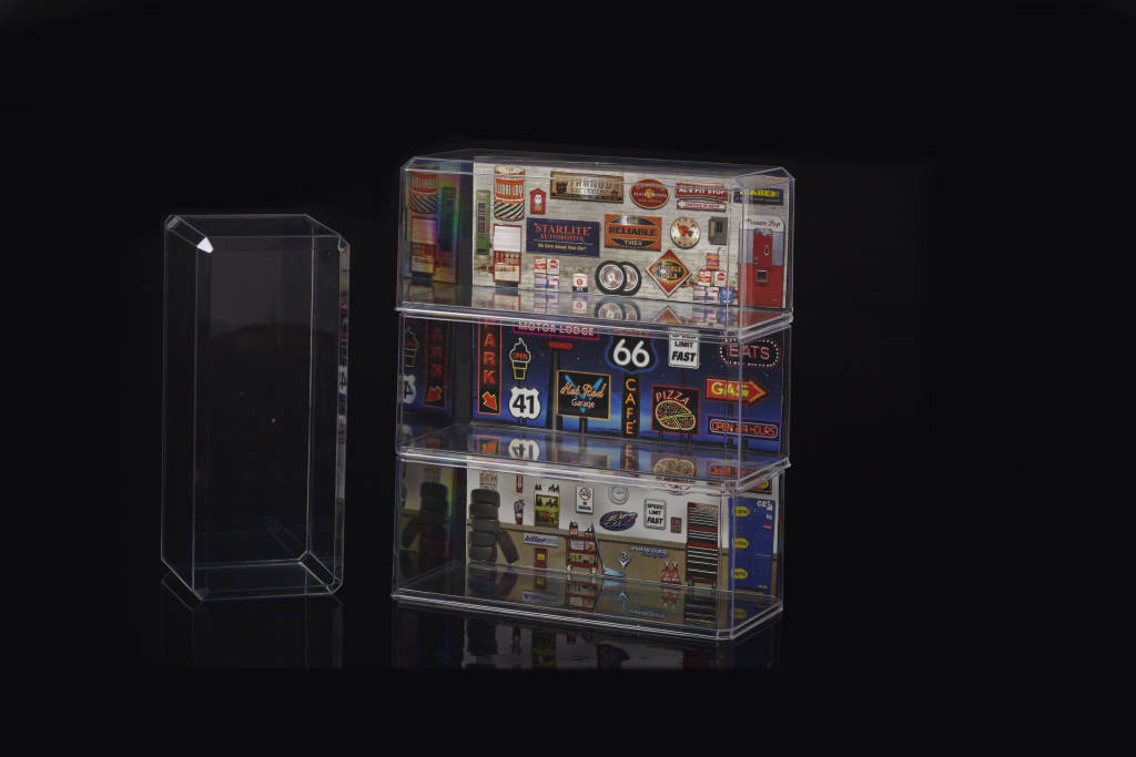 1/18 Crystal Clear Car Display Case (ea)