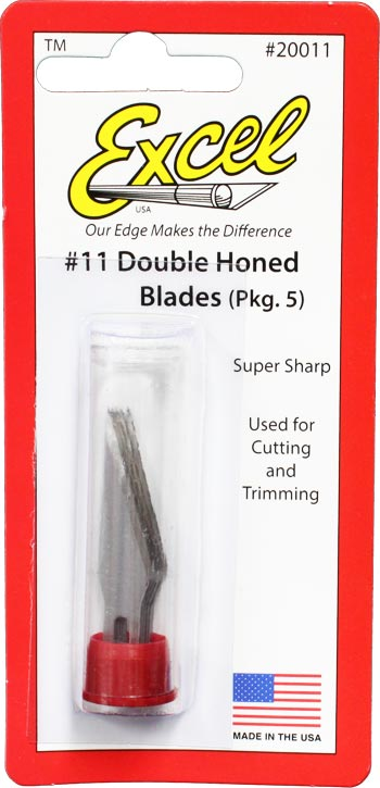 #11 Double Honed Blades (5pk)