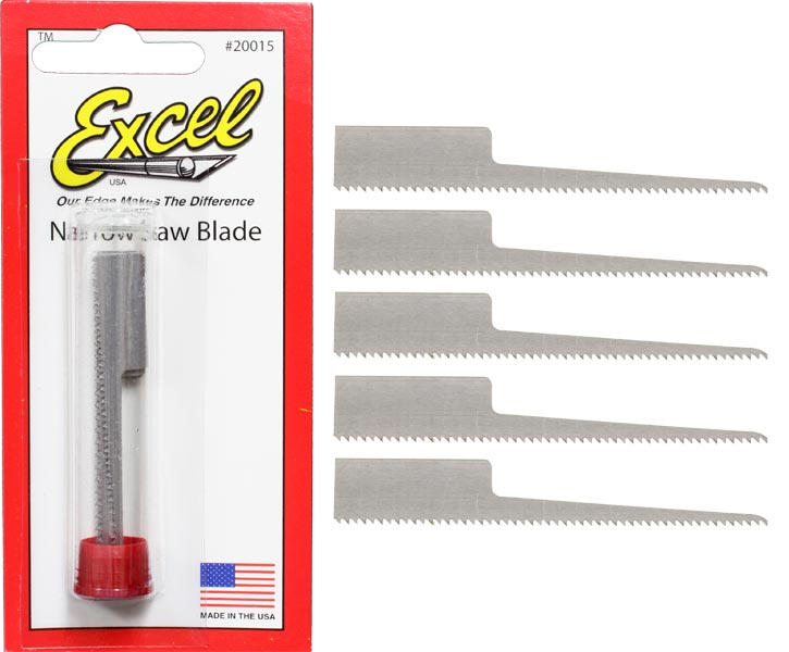 #15 Narrow Saw Blades (5pk)