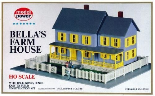 HO Bella's Farm House Kit