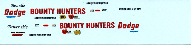 """Bounty Hunter"" Decal Set"