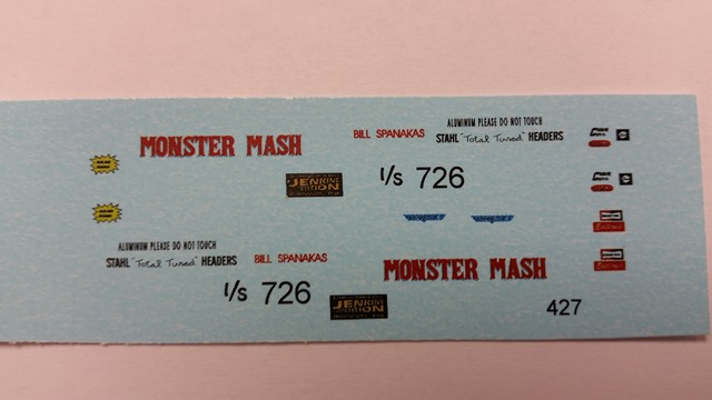 """Monster Mash"" Decal Set"