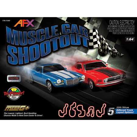 AFX Muscle Car ShootOut Race Set