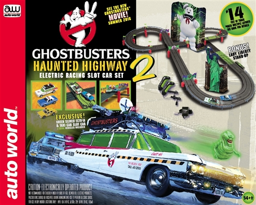 AW 14' Ghost Busters Haunted Highway 2 Race Set