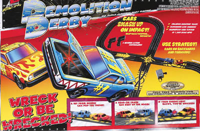 Life-Like Demolition Derby (2003) Race Set