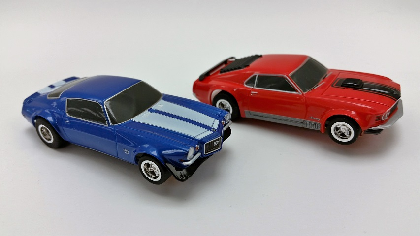 AFX Muscle Car ShootOut Set Only Cars (Set of 2)